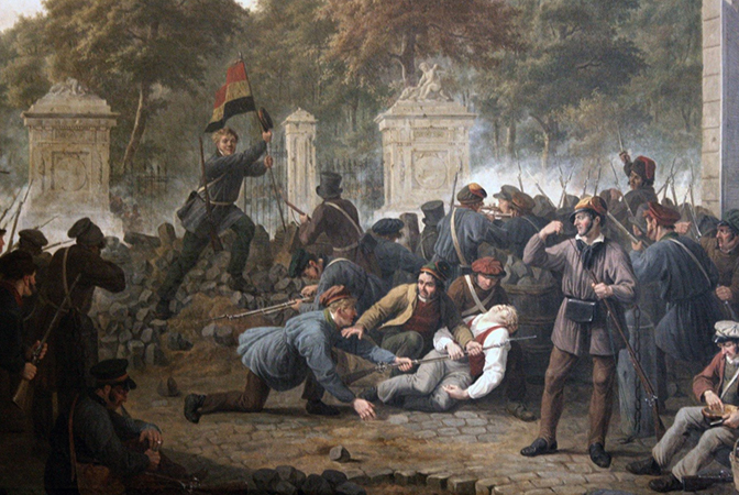 Революция в Бельгии