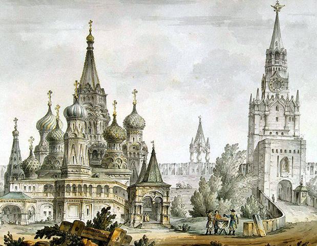 Рисунок собора