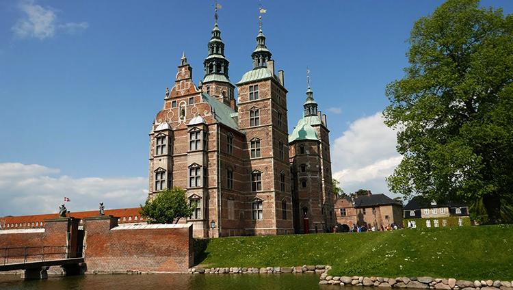 Замок Розенборг, г. Копенгаген