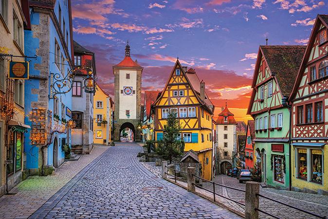 Очаровательный Ротенбург