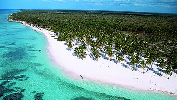 Остров Саона и местный пляж