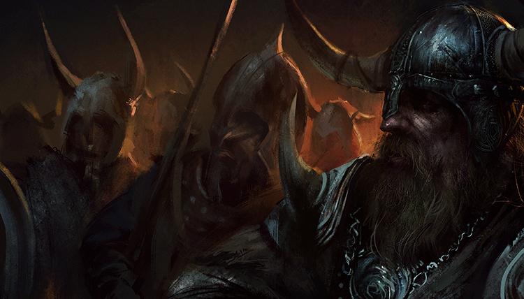 Суровые викинги