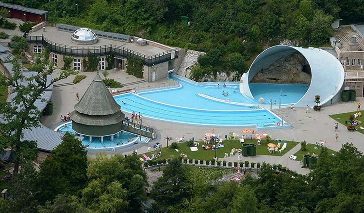 Термальный курорт Мишкольц-Тапольца, г. Мишкольц