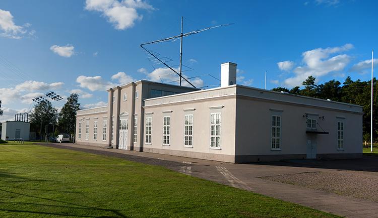 Радиостанция Варберг в Гриметоне