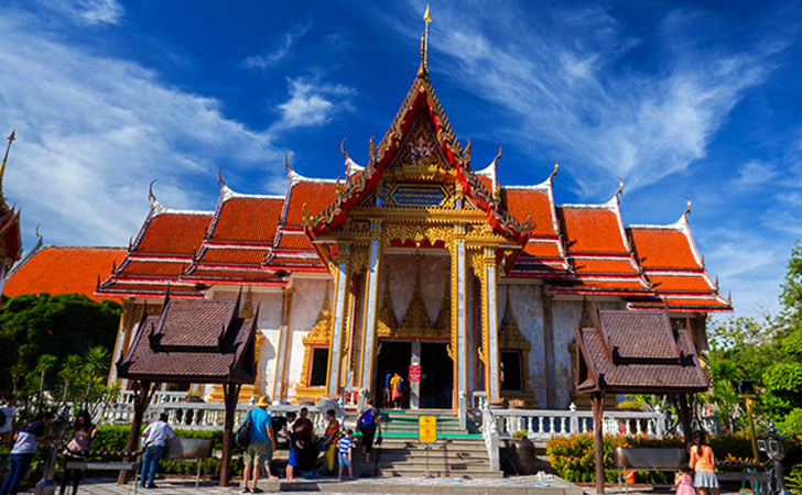 Храм Ват Вичит Сонгкрам (Wat Wichit Songkram)