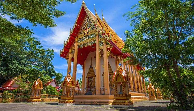 Храм Ват Пхра Хонг (Wat Phra Thong)