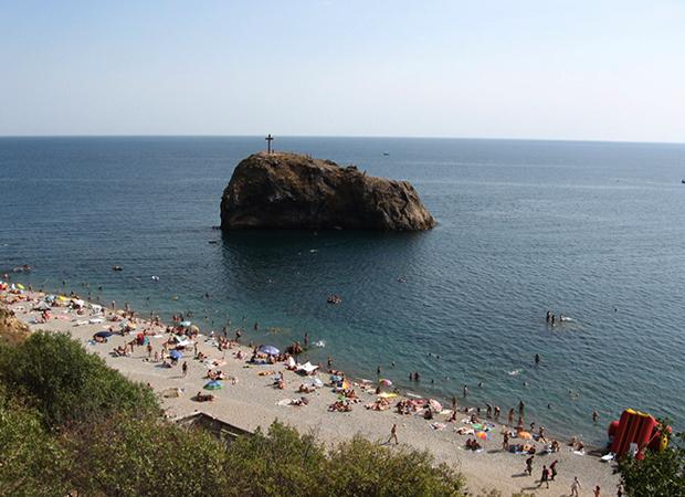 Севастополь: «Яшмовый пляж»