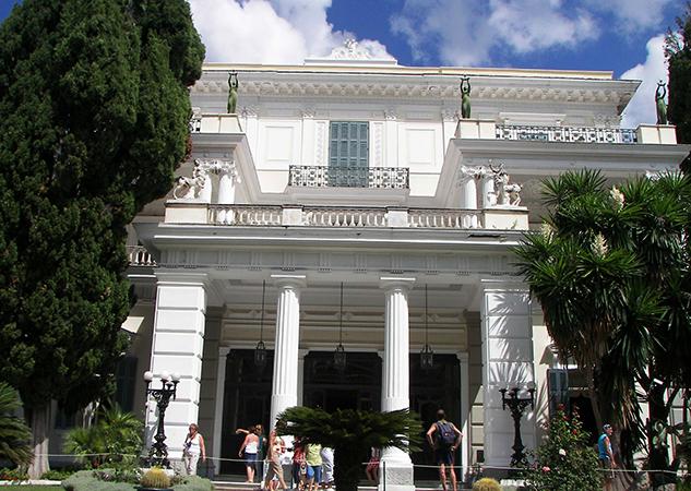Дворец Ахиллион, о. Керкира