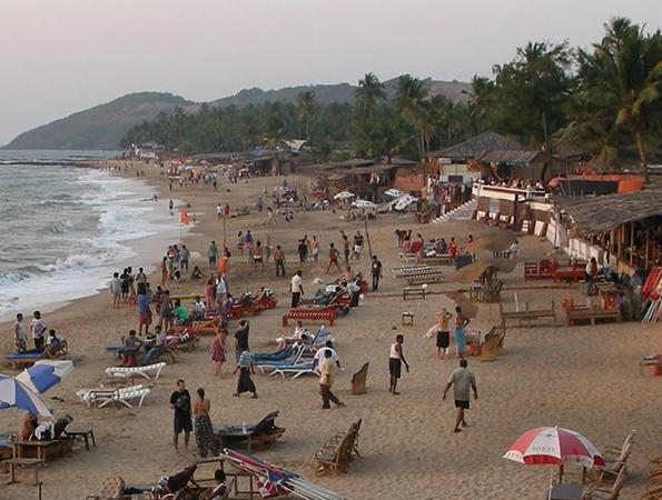 Анджуна (Anjuna Beach)