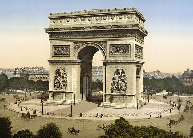 Триумфальная арка (arc de triomphe de l'Étoile)