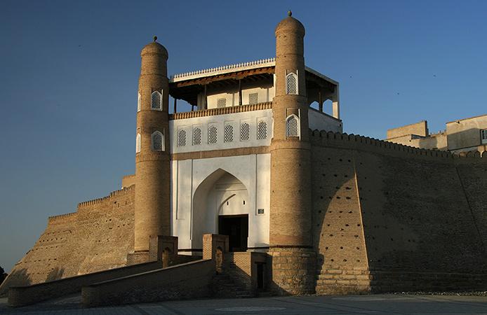Крепость Арк, г. Бухара