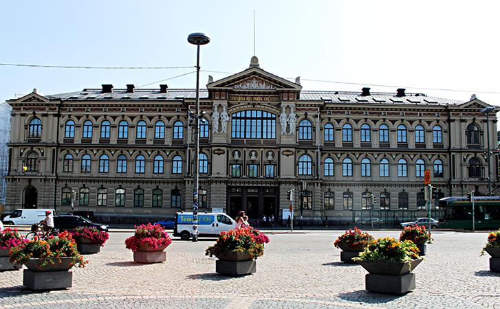 Художественный музей Атенеум, г. Хельсинки