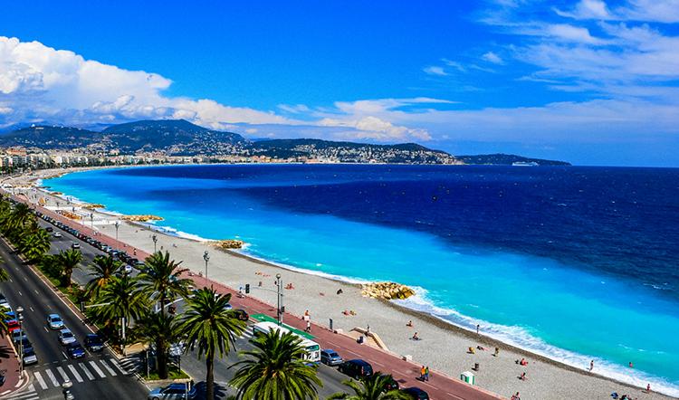Лазурный берег (Côte d'Azur)