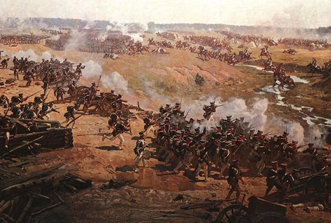 Битва Бородинская