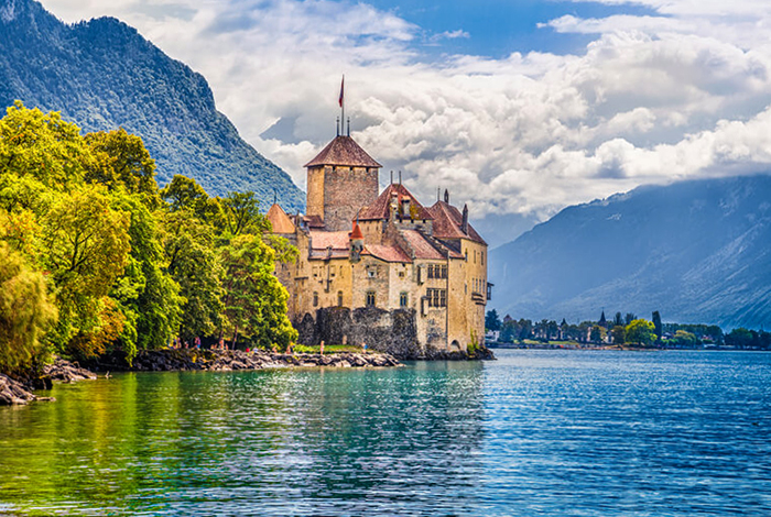 Шато де Шильон (Chateau de Chillon)