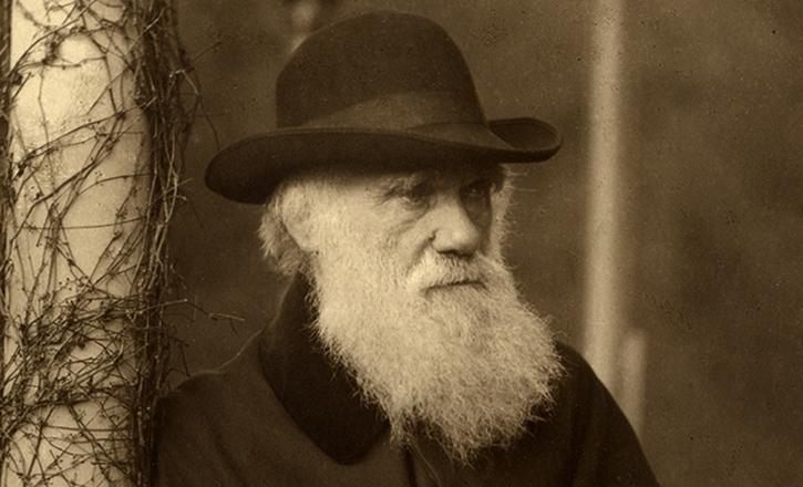Пожилой Чарльз Дарвин