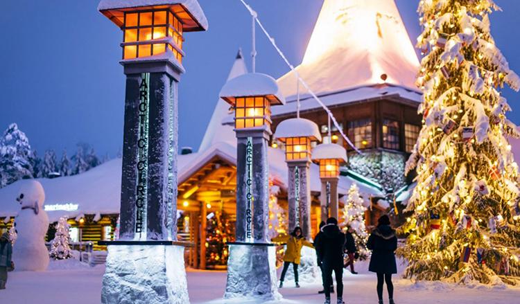 Деревня Санта-Клауса, Лапландия