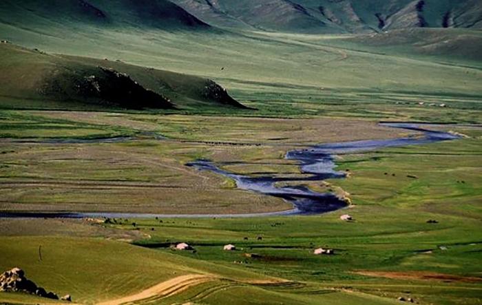 Долина реки Орхон