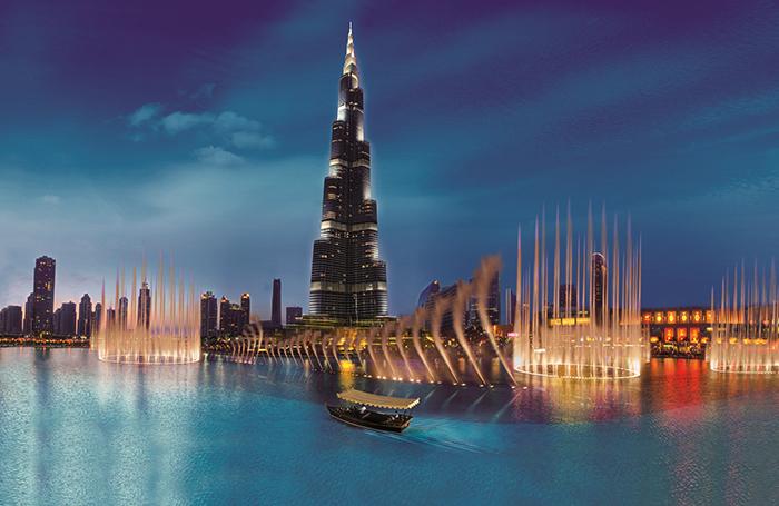 Фонтан Дубая (Dubai Fountain)