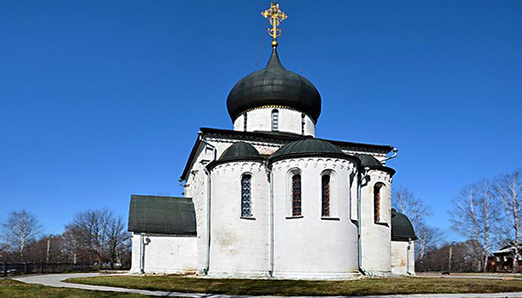 Георгиевский собор в городе Юрьев-Польский