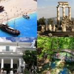 10 самых красивые мест Греции