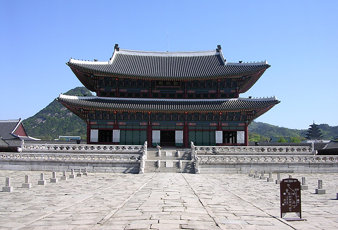 Дворец Генбоккун (Gyeongbokgung Palace)