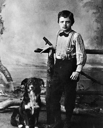 Джек Лондон в детстве