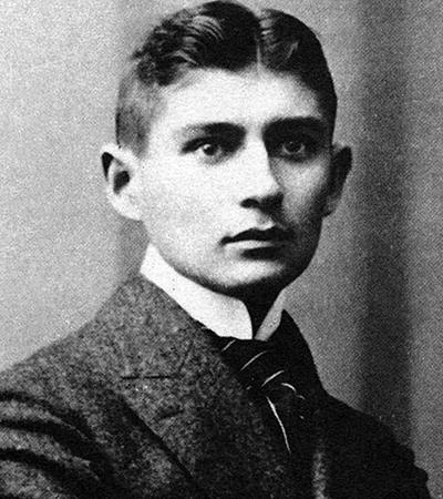 Молодой Франц Кафка