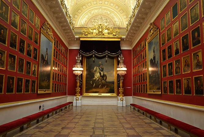 Картины в зимнем дворце