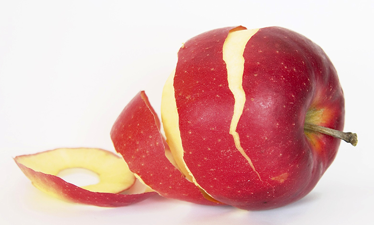 Кожура яблока