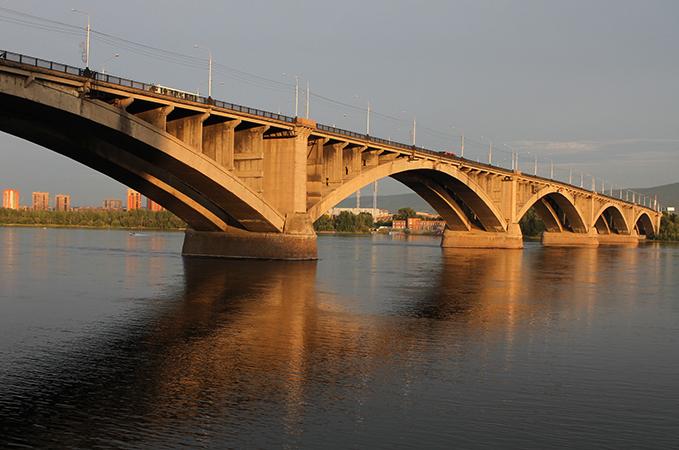Красноярский коммунальный мост