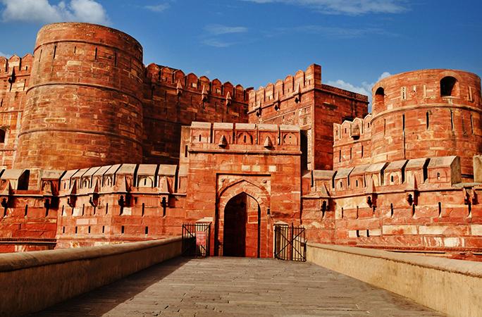 Красный форт, г. Агра