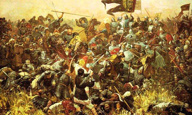 Сражение во время битвы