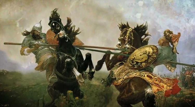 Битва двух войнов