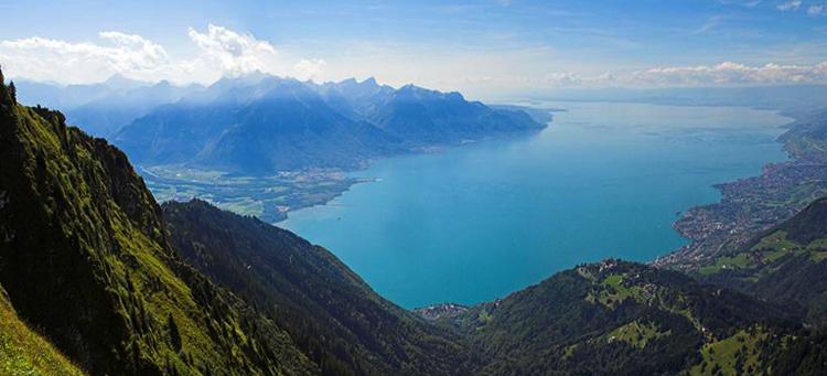 Женевское озеро Лак Леман (Lac Leman)
