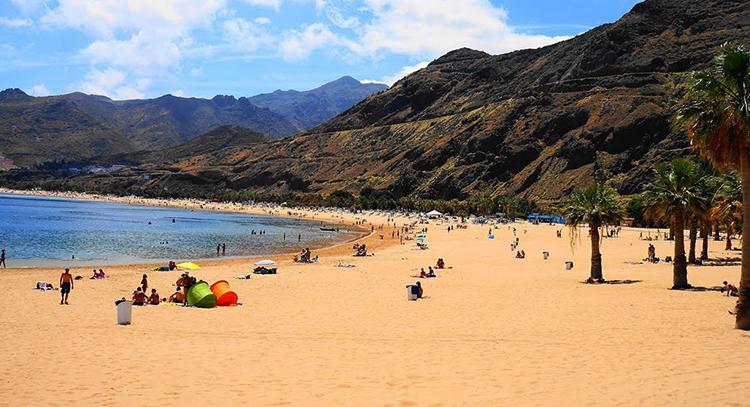Де лас Тереситас / Playa de las Teresitas