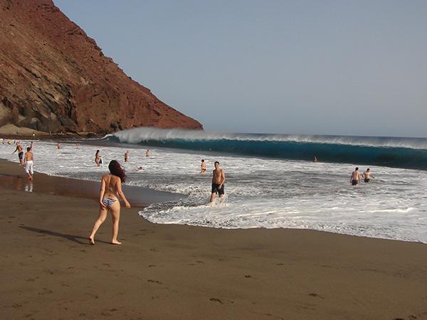 Де ла Техита / Playa de la Tejita