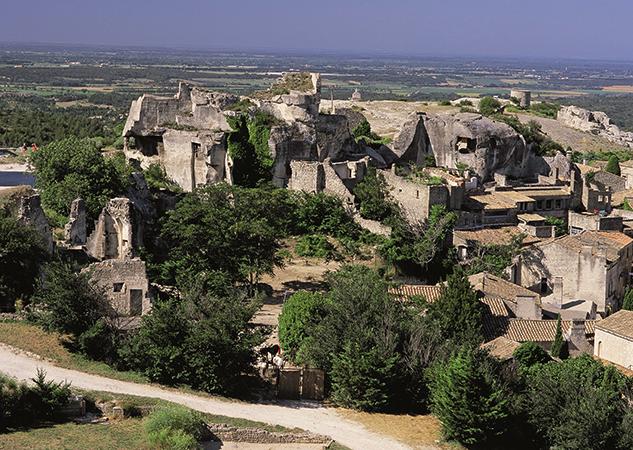 Скальный город Ле Бо де Прованс (Les Baux de Provence)