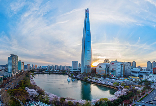Небоскреб Lotte World Tower