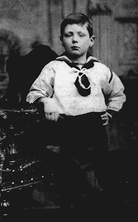 Черчилль в детстве