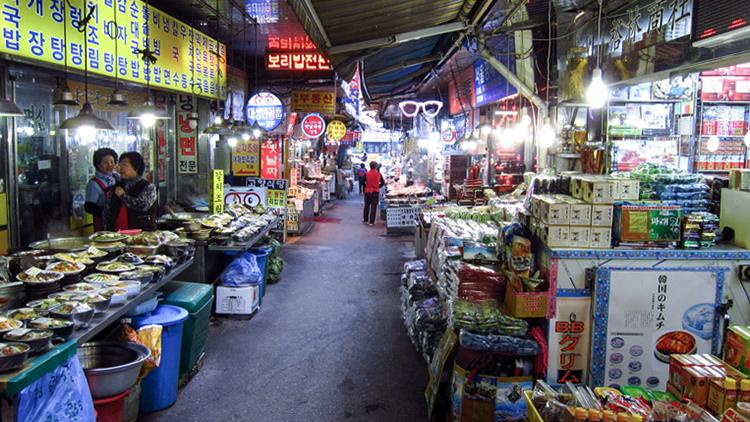 Рынок Намдэмун (Namdaemun Market)