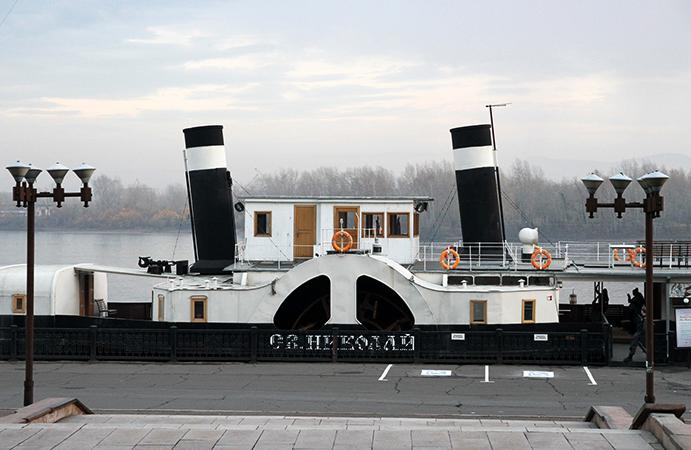 Музей-пароход «Святой Николай»