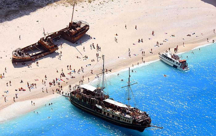 Пляж Навагио, о. Закинф