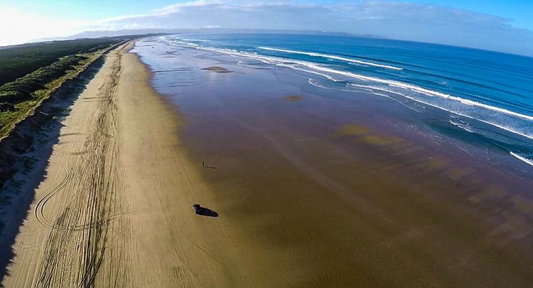 Пляж Найнти-Майл