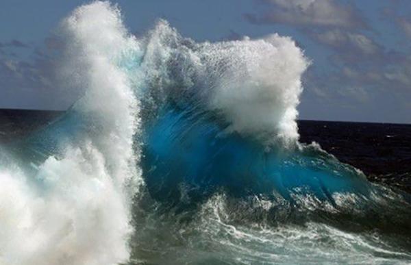 Волны на Ладожском озере