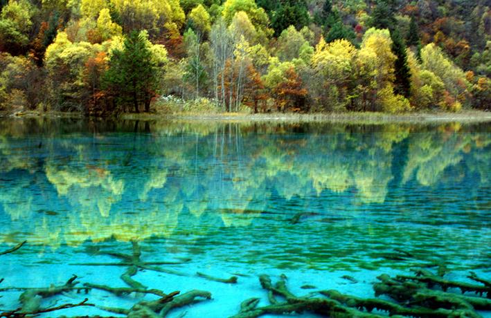 Озеро Пяти цветков, Китай