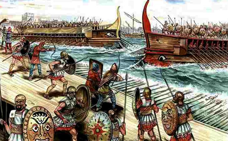Корабли во время войны