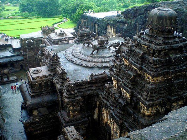 Пещеры Эллоры: храмы в скалах, г. Аурангабад