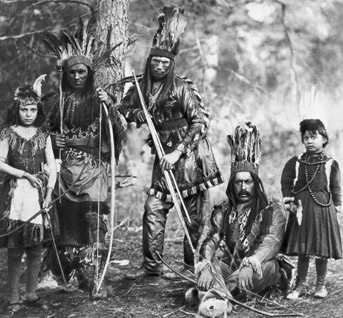 Племя индейцев