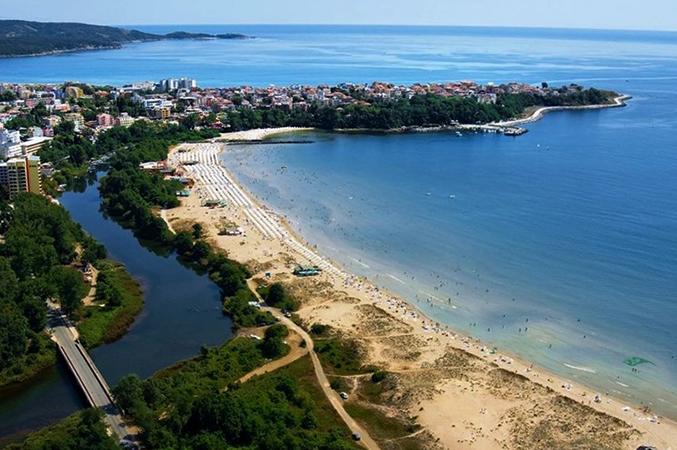 Пляжи в Приморско